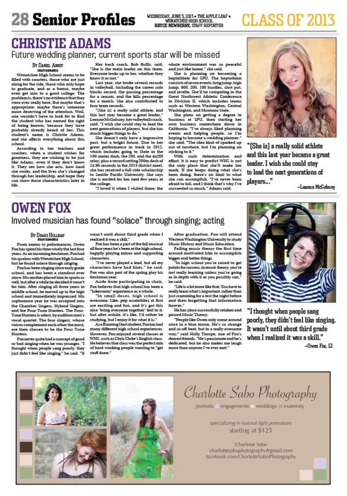 Layout published June 5, 2013