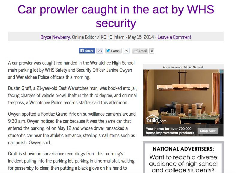 Story broke May 15, 2014